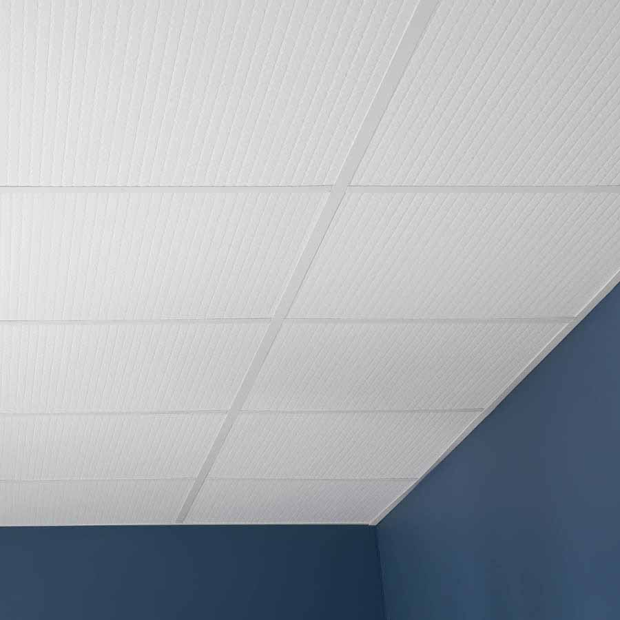 Genesis Ceiling Tile-2x2 Classic Pro in White
