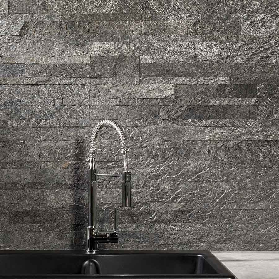 Aspect Stone Tile in Frosted Quartz