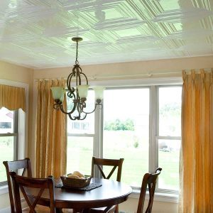 Fasade Ceiling Tile in Traditional 3