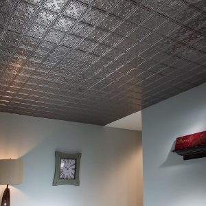 Fasade Ceiling Tile in Traditional 10