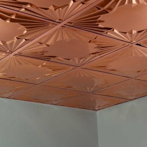Fasade Ceiling Tile in Art Deco
