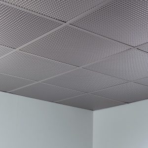Fasade Ceiling Tile in Square