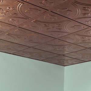 Fasade Ceiling Tile in Traditional 5