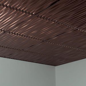 Fasade Ceiling Tile in Dunes
