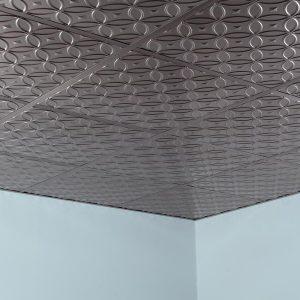 Fasade Ceiling Tile in Rings