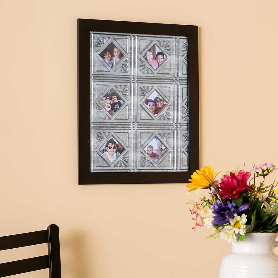Picture Frame with Fasade Traditional 4 Panels